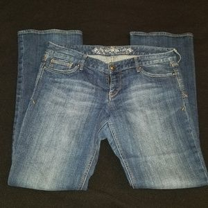 EUC Express Boot Cut Jeans size 12R